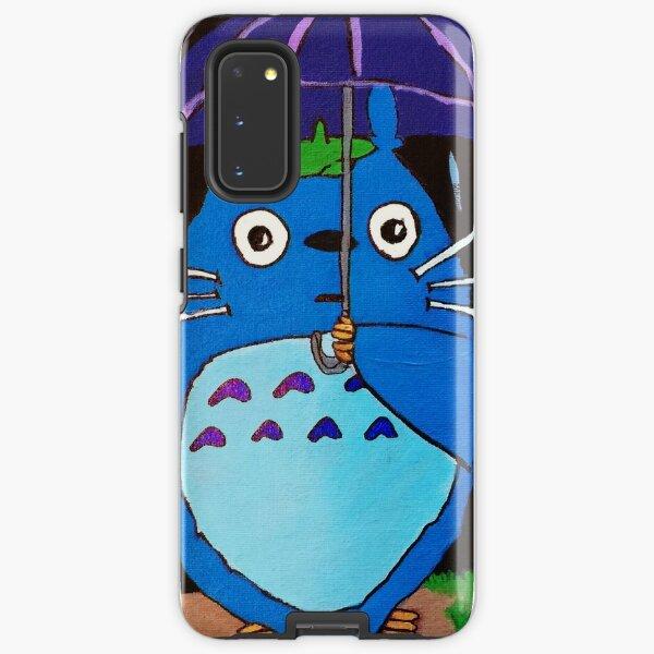 In the Rain with Totoro Samsung Galaxy Tough Case