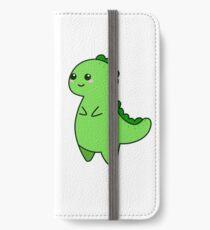 Kawaii Cute T-rex Tyrannosaurus iPhone Wallet/Case/Skin