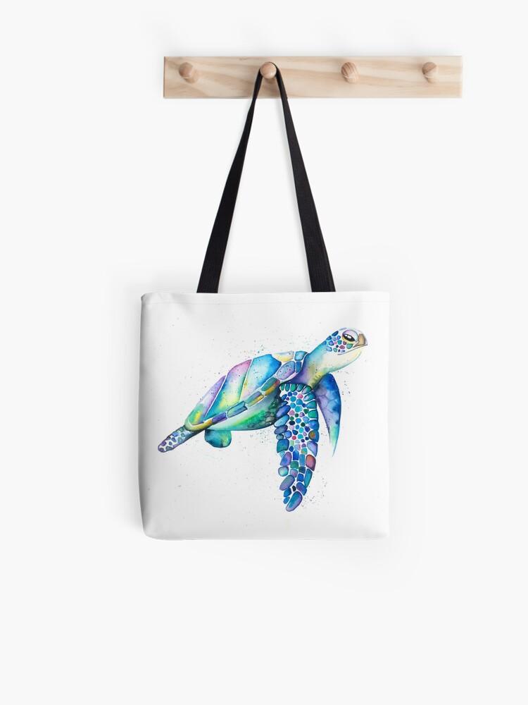 Drawstring Backpack Love Sea Turtles Shoulder Bags