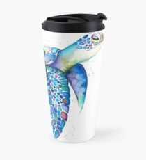 Rainbow Turtle  Travel Mug