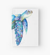 Rainbow Turtle  Hardcover Journal