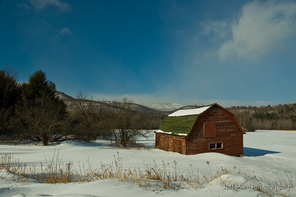 The Red Barn by Jeff Palm Photography