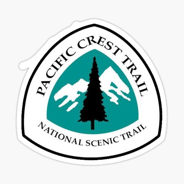 PCT Trail Marker Sticker