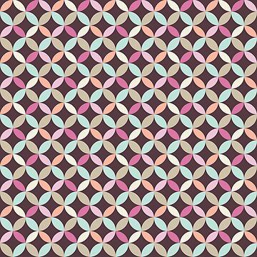 Fun Colorful Geometric Pattern by heartlocked