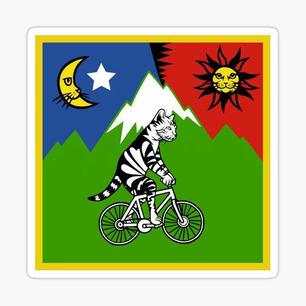 Bicycle Catnip (Electric Catnip) Sticker
