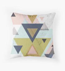 Mid-Century Scandinavian Retro Throw Pillow