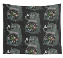 Space junkie stickers by nichole lillian ryan redbubble wall tapestry publicscrutiny