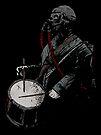 War Drummer by matthewdunnart