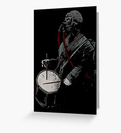 War Drummer Greeting Card