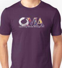 Purple OMA logo Unisex T-Shirt