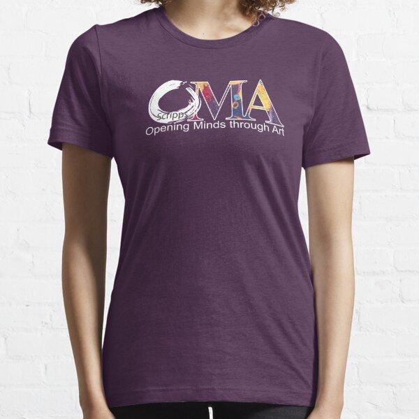 Purple OMA logo Essential T-Shirt