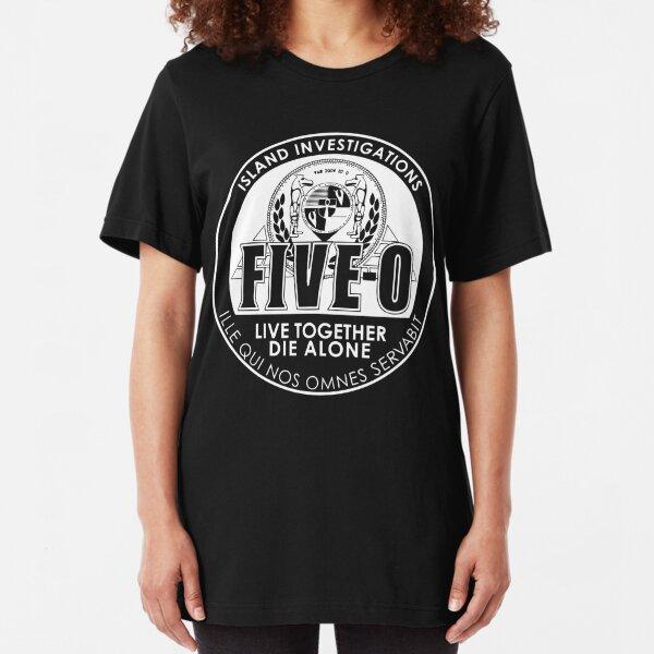 NEW NWT Hawaii Five O Book Em Danno Retro T-Shirt Officially Licensed
