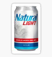 Natty light Sticker