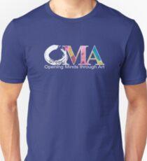 Blue OMA Logo Unisex T-Shirt