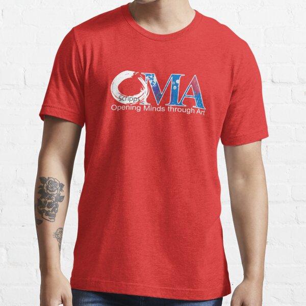 Red OMA Logo Essential T-Shirt