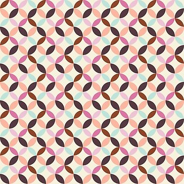 Fun Colorful Abstract Pattern by heartlocked