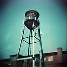 Cranston Water Tower by Paul Lavallee