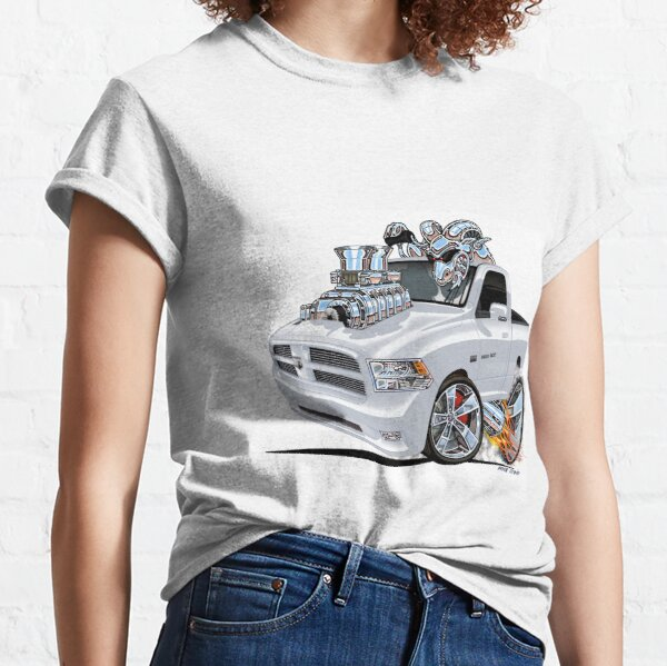 Vince Crain RAM 1500 Truck Burnout T-shirt classique