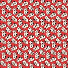 Oggy the Doggy Pattern by aartmoore