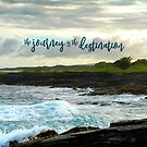 """The journey is the destination"" Hawaii black sand beach by Luceworks"