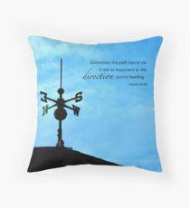Weathervane Throw Pillow