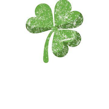 St Patrick's Day Shirt, 4 leaf clover, bar crawl shirt, shamrock shirt by 6thave