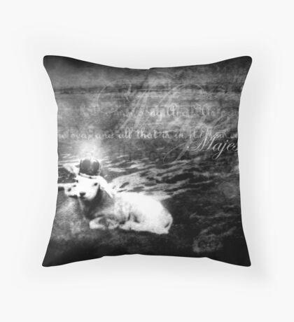 The Coastlands Rejoice Throw Pillow