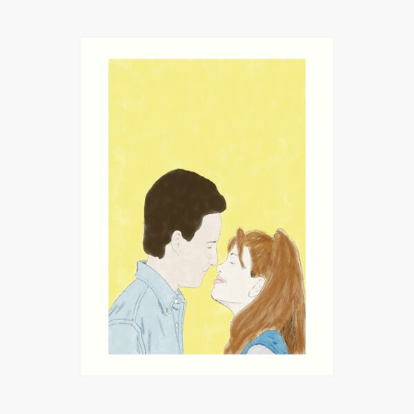 BOY MEETS WORLD (Cory & Topanga) - Watercolor Art Print