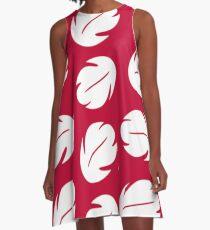 Lilo Stich Floral Pattern A-Line Dress