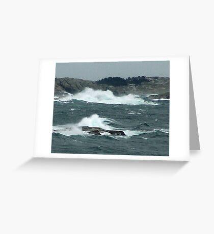 Rock-Bound Coast (2) Greeting Card