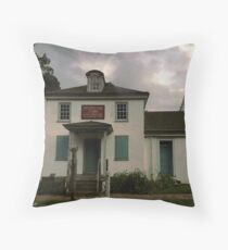 Washington Crossing General Store, Old Timey Throw Pillow