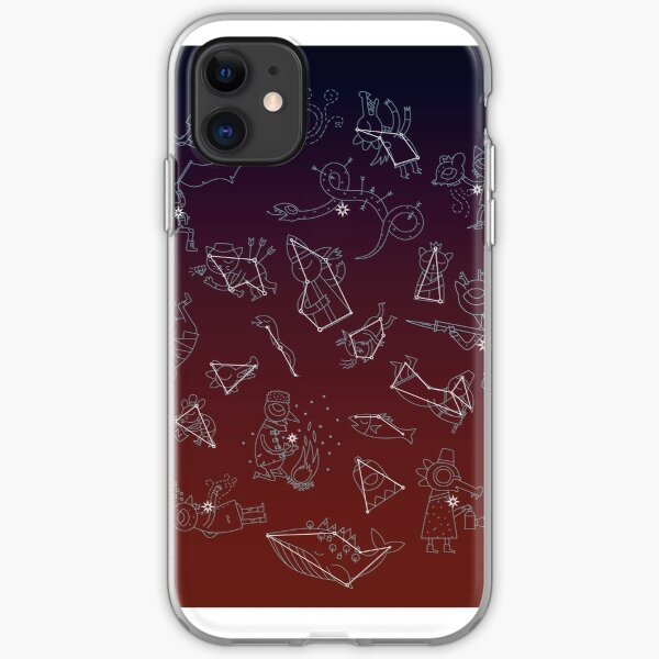 Night in the Woods Constellations iPhone Soft Case