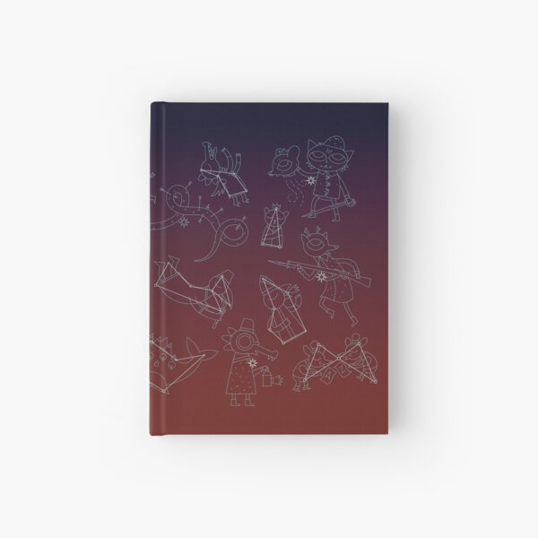 Night in the Woods Constellations Hardcover Journal