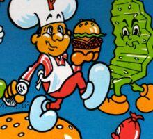 Burgertime Sticker
