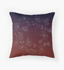 Night in the Woods Constellations Floor Pillow