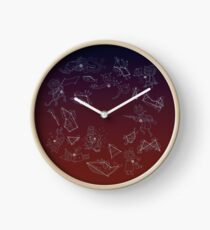 Night in the Woods Constellations Clock