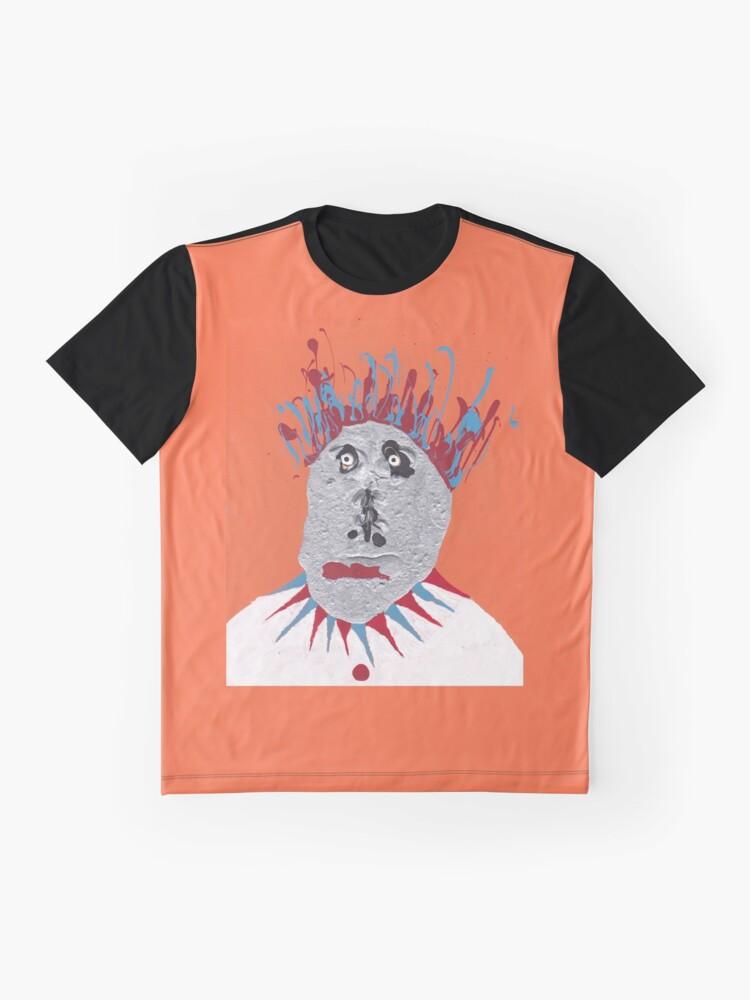 T-shirt graphique ''Patate - Martin Boisvert - Faces à flaques': autre vue