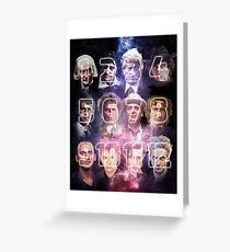 12 Doctors Greeting Card