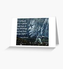 Coltrane Wisdom Greeting Card