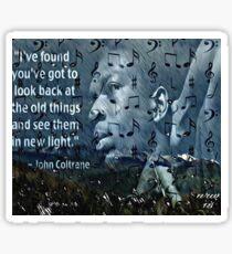 Coltrane Wisdom Sticker