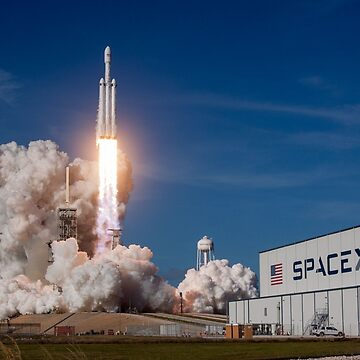 Falcon Heavy First Launch by lurchmerch