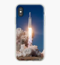 Falcon Heavy First Launch iPhone Case