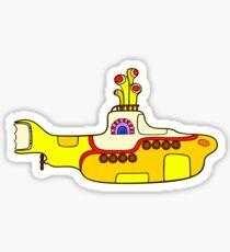 Gelbes U-Boot Sticker