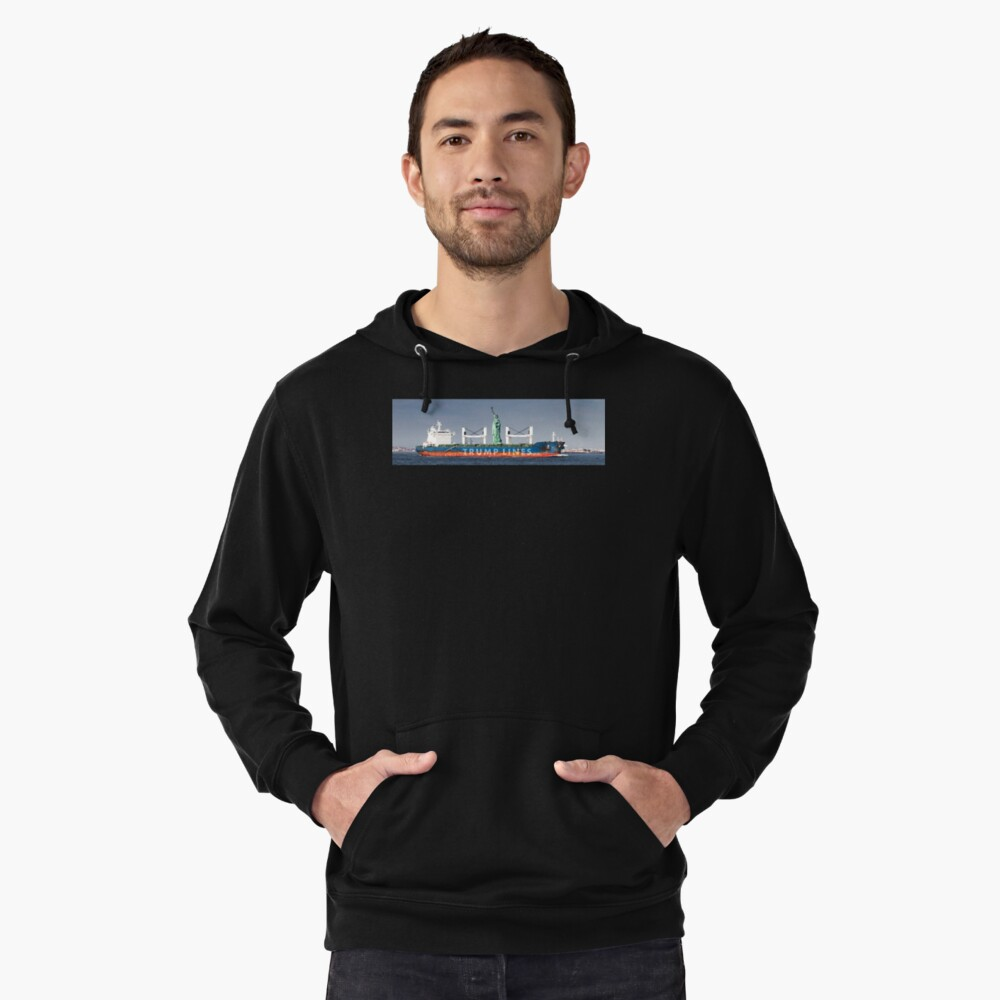 Deported.  Lightweight Hoodie Front