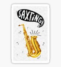 Saxting! Sticker