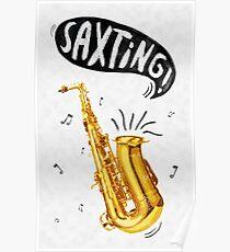 Saxting! Poster