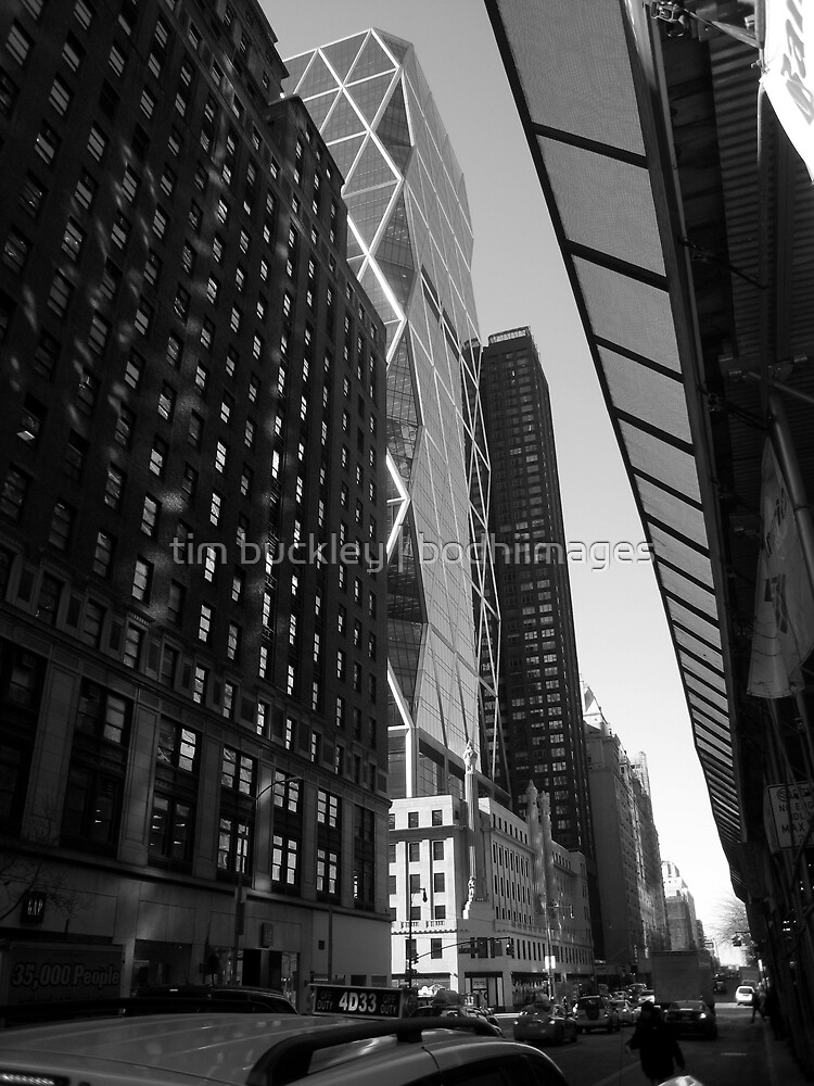 city light. broadway, new york city by tim buckley | bodhiimages