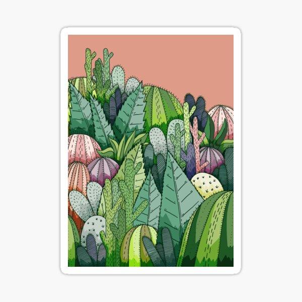 Cactus Garden  Sticker