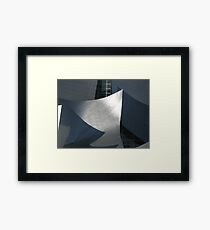 Mickey Mouse Archictecture Framed Print