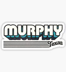 Murphy, Texas | Retro Stripes Sticker